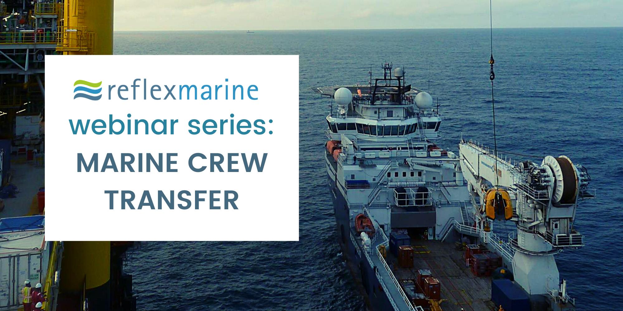 Read Reflex Marine's webinar series
