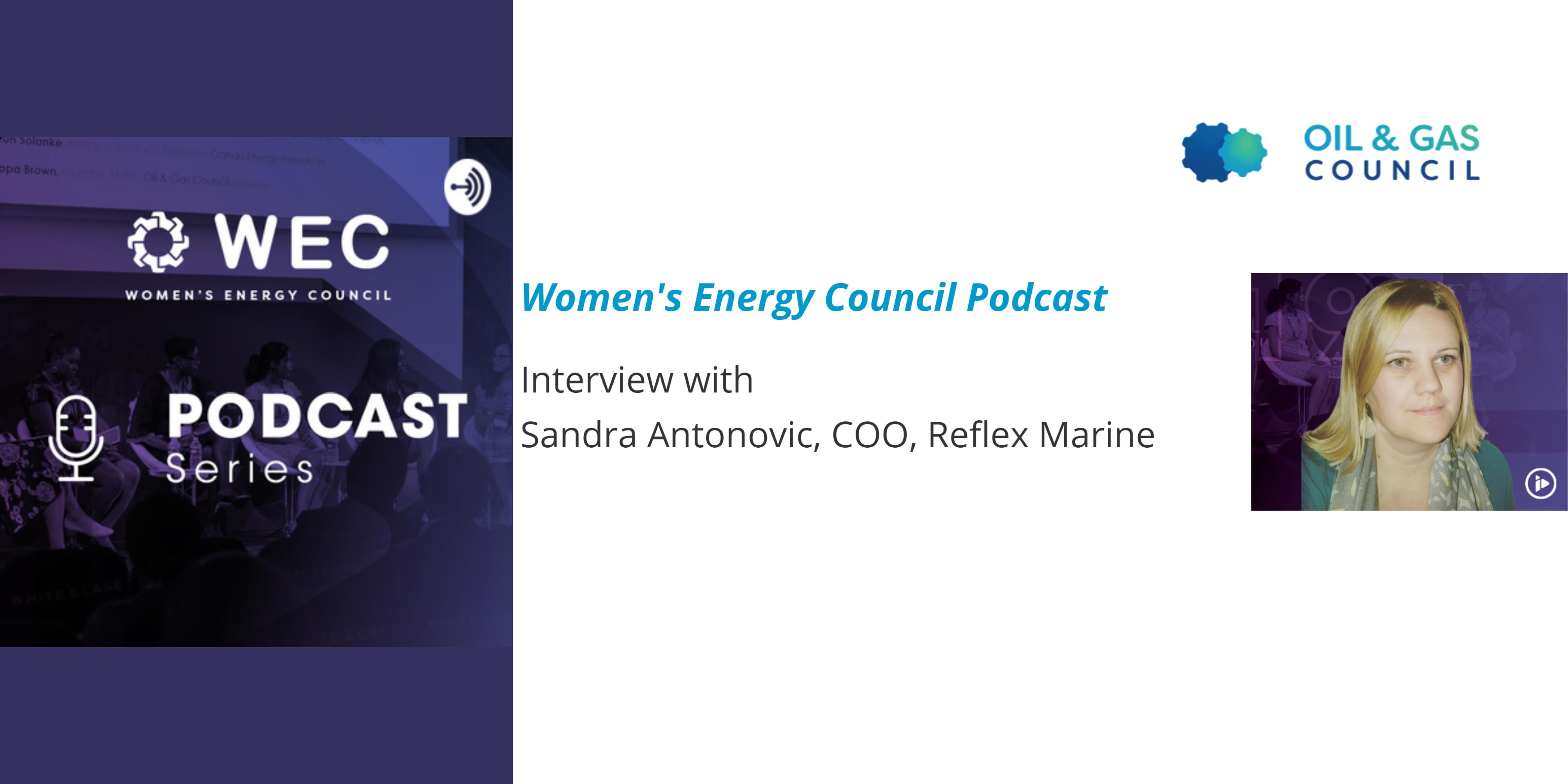 Read Podcast: Interview with Sandra Antonovic